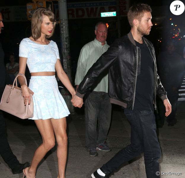 Taylor Swift et son petit ami Calvin Harris ont fait la fête ensemble à New York, le 26 mai 2015