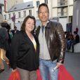 """Myriam Boyer et Didier Long - Dernière du spectacle """"Les Franglaises"""" au théâtre Bobino à Paris, le 27 mai 2015."""