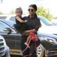 Kourtney Kardashian emmène sa fille Penelope à sa leçon de danse classique. Tarzana, le 28 mai 2015.