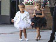 North et Penelope : Adorables avec les mamans Kim et Kourtney Kardashian