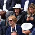 Nathalie Péchalat lors des Internationaux de France à Roland Garros, le 28 mai 2015 à Paris