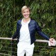 Céline Géraud lors des Internationaux de France à Roland Garros, le 28 mai 2015 à Paris
