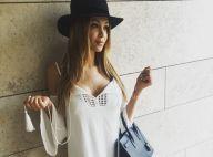 Nabilla : Robe décolletée et jolies gambettes, elle adore être copiée !