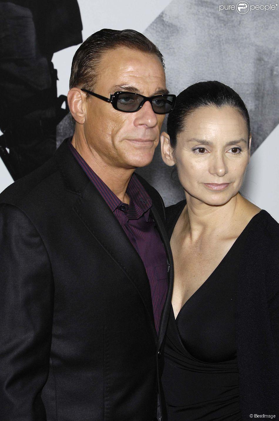 Jean-Claude Van Damme et Gladys Portugues à Los Angeles le 15 août 2012.