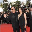 Jean Claude Van Damme et sa femme Gladys à Cannes en mai 2010