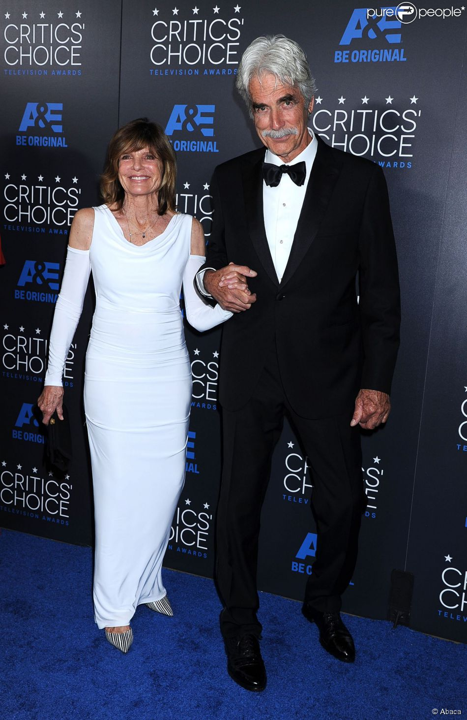 Katharine ross et sam elliott 5e c r monie des critics for People s choice 65