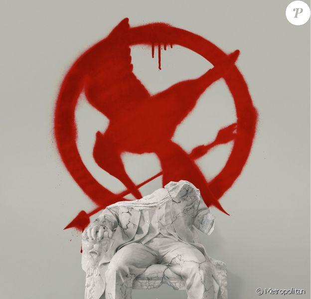 Première affiche officielle de Hunger Games : La Révolte - Partie 2. Le Capitole a été hacké par les rebelles. La Révolution est en marche !