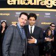 """"""" Jerry Ferrara et Adrian Grenier - Avant-première du film Entourage à Los Angeles le 1er juin 2015 """""""
