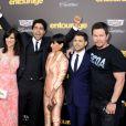 Perrey Reeves, Adrian Grenier, Constance Zimmer, Mark Wahlberg, Jeremy Piven et Jerry Ferrara - Avant-première du film Entourage à Los Angeles le 1er juin 2015