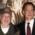 Steven Spielberg et Tom Hanks à Hollywood le 24 février 2010.