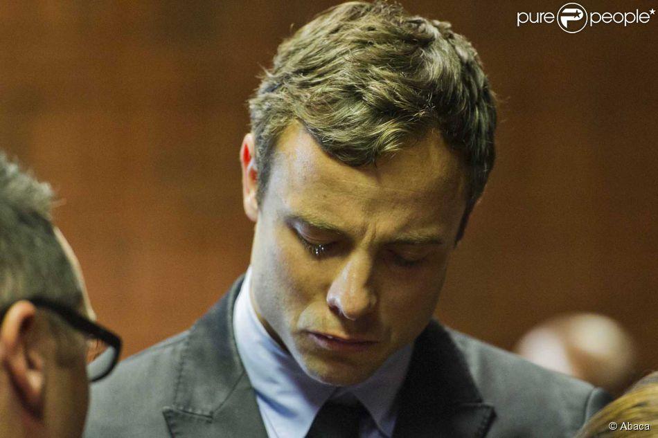 Oscar Pistorius, lors de son procès au tribunal de Pretoria, le 19 août 2013