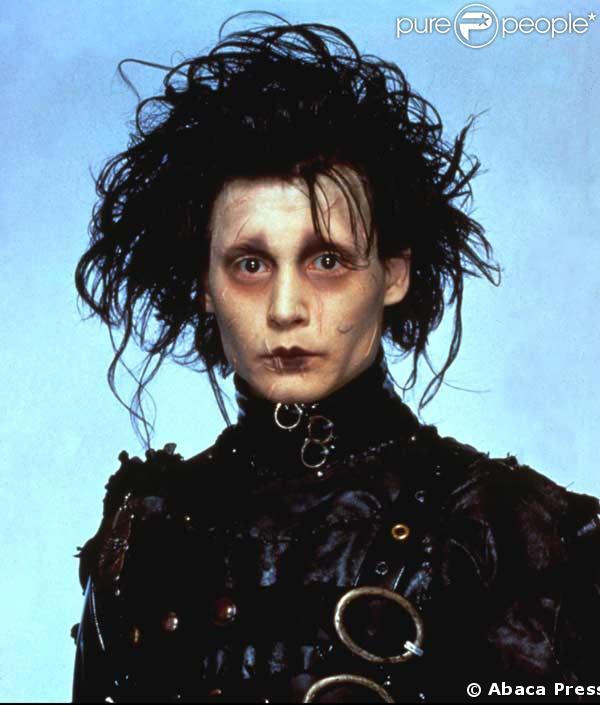 Johnny Depp Edward. Johnny Depp dans Edward aux