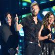 Lady Antebellum, Hillary Scott, Charles Kelley, Dave Haywood - Cérémonie des Country Music Television Awards au Bridgestone Arena de Nashville, Tennessee, le 10 juin 2015.