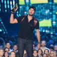 Luke Bryan - Cérémonie des Country Music Television Awards au Bridgestone Arena de Nashville, Tennessee, le 10 juin 2015.