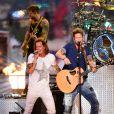 Tyler Hubbard et Brian Kelley de Florida Georgia Line - Cérémonie des Country Music Television Awards au Bridgestone Arena de Nashville, Tennessee, le 10 juin 2015.