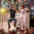 Tyler Hubbard et Brian Kelley - Cérémonie des Country Music Television Awards au Bridgestone Arena de Nashville, Tennessee, le 10 juin 2015.