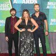 Dave Haywood et Hillary Scott et Charles Kelley - Cérémonie des Country Music Television Awards au Bridgestone Arena de Nashville, Tennessee, le 10 juin 2015.