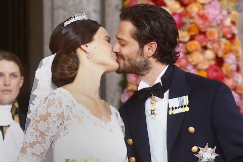Mariage Carl Philip et Sofia de Suède : Fous d'amour, une émotion inoubliable...