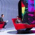 Exclusif - Enregistrement de l'émission  Le Divan  présentée par Marc-Olivier Fogiel avec Mika en invité, le 10 avril 2015.