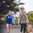 Exclusif - L'actrice Michelle Williams et sa fille Matilda Ledger à Brooklyn le 8 juin 2015.