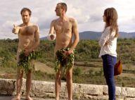 Fanny Valette, face à deux hommes tout nus, reste zen