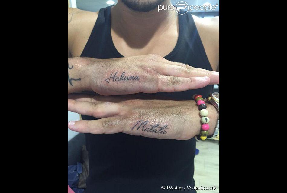 vivian (les anges 7) : quatre nouveaux tatouages, dont un très