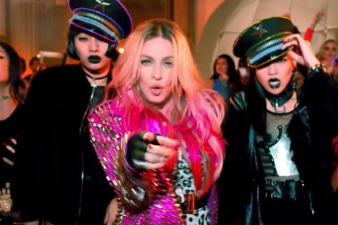 Madonna, Miley, Beyoncé, Katy Perry... Clip de folie pour ''Bitch, I'm Madonna''