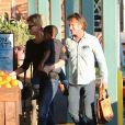 Charlize Theron, son fils Jackson et Sean Penn sont allés faire des courses chez Whole Foods à West Hollywood. Le 22 janvier 2014Penn on January 22, 2014.22/01/2014 - West Hollywood