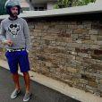 Thomas Vergara prend la pose sur Instagram