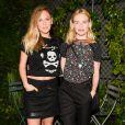 """Dylan Penn et Kate Bosworthassistent à la 5e édition de la soirée """"Coach And Friends - Summer Party on the High Line"""" à l'High Line. New York, le 23 juin 2015."""