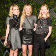 """Kiernan Shipka, Chloë Grace Moretz et Kate Bosworth assistent à la 5e édition de la soirée """"Coach And Friends - Summer Party on the High Line"""" à l'High Line. New York, le 23 juin 2015."""