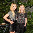 """Chloë Grace Moretz et Kate Bosworth assistent à la 5e édition de la soirée """"Coach And Friends - Summer Party on the High Line"""" à l'High Line. New York, le 23 juin 2015."""