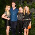 """Chloë Grace Moretz, Stuart Vevers, Kate Bosworth et Suki Waterhouse assistent à la 5e édition de la soirée """"Coach And Friends - Summer Party on the High Line"""" à l'High Line. New York, le 23 juin 2015."""