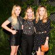 """Chloë Grace Moretz, Kate Bosworth et Suki Waterhouse assistent à la 5e édition de la soirée """"Coach And Friends - Summer Party on the High Line"""" à l'High Line. New York, le 23 juin 2015."""