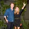 """Stuart Vevers et Suki Waterhouse assistent à la 5e édition de la soirée """"Coach And Friends - Summer Party on the High Line"""" à l'High Line. New York, le 23 juin 2015."""