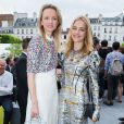 Delphine Arnault et Natalia Vodianova - Défilé Berluti printemps-été 2016 au musée Picasso à Paris le 26 juin 2015.