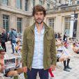Guillaume Néry - Défilé Berluti printemps-été 2016 au musée Picasso à Paris le 26 juin 2015.