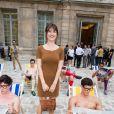 Jeanne Damas - Défilé Berluti printemps-été 2016 au musée Picasso à Paris le 26 juin 2015.