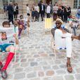 Amar'e Stoudemire - Défilé de mode masculine Berluti PAP Printemps / été 2016 au musée Picasso à Paris le 26 juin 2015.  Men's Berluti fashion Show Spring/Summer 2016 at Musee Picasso in Paris. June 26th, 201526/06/2015 - Paris