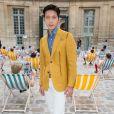 Boran Jing - Défilé Berluti printemps-été 2016 au musée Picasso à Paris le 26 juin 2015.