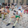 Défilé Berluti printemps-été 2016 au musée Picasso à Paris le 26 juin 2015.