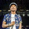 Pharrell Williams à Glastonbury le 27 juin 2015.