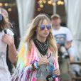 Suzi Waterhouse à Glastonbury le 27 juin 2015.