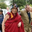 Le Dalaï Lama à Glastonbury le 28 juin 2015.