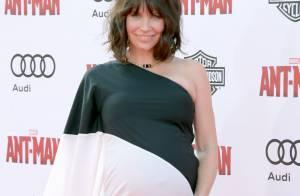 Evangeline Lilly enceinte : Surprise, la star dévoile son imposant ventre rond !