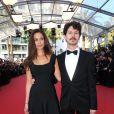 Lucie Lucas et le réalisateur Gabe Klinger lors du 68e Festival International du Film de Cannes, le 17 mai 2015.