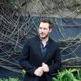 """Chris Pratt en conférence de presse pour le film """"Jurassic World"""" aux studios Universal à Los Angeles le 6 juin 2015."""