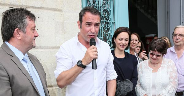 Bernard guiraud maire de lesparre m doc jean dujardin for Dujardin bernard