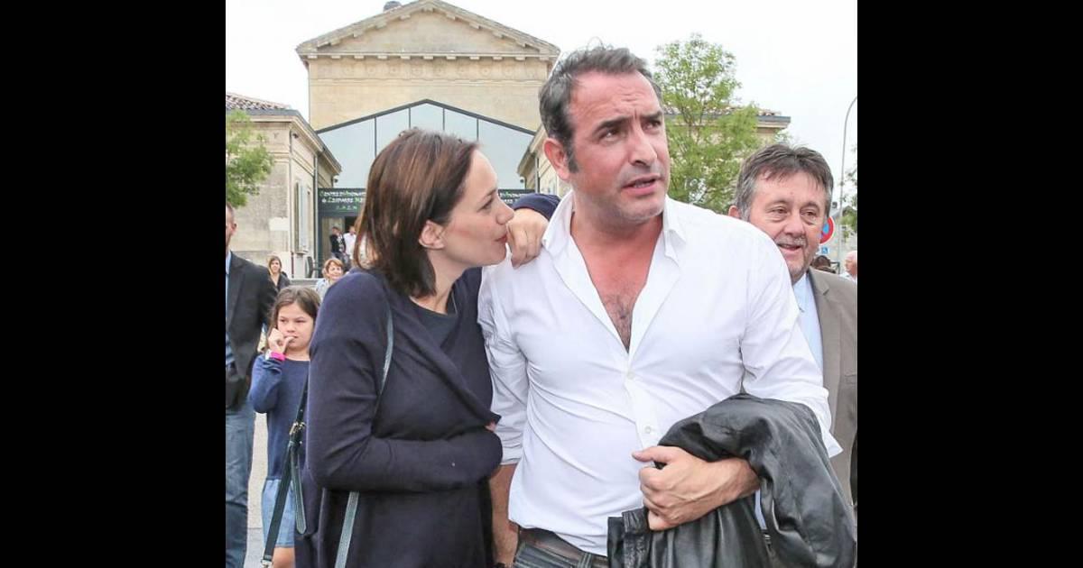 Nathalie p chalat enceinte jean dujardin bient t de for Nouveau film dujardin