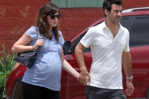Zooey Deschanel : Enceinte lors d'une après-midi brocante avec son fiancé